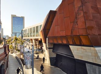 Yagan Square has created a new era in culture and connectivity for the city of Perth. Image courtesy of Peter Bennetts