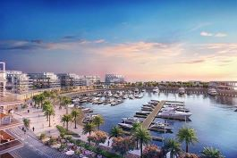 Yas Acres marina view (Image courtesy of Aldar Properties PJSC)
