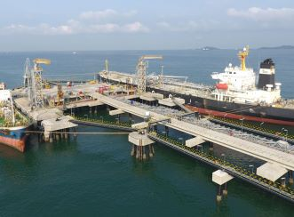 Aurecon has more than 70 years of experience delivering ports and marine projects. Image courtesy of Thai Oil Public Company Limited.