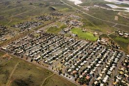 Wickham Accommodation Expansion Project - Aerial View (Photo courtesy of Rio Tinto)