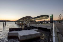 Aurecon and Cox Architecture delivered a new accessible, elegant, and functional Ferry Wharf located in Sydney's Barangaroo Precinct for Transport for NSW.