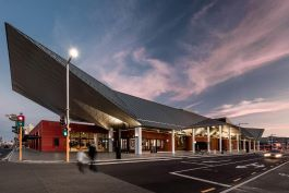 Aurecon helped in designing and documenting the new Christchurch Bus Interchange. Image credit: Architectus