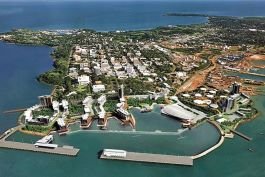 Darwin City Waterfront - 3D Masterplan