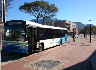 Aurecon has helped to improve the public transport network in and around the George municipal area in South Africa