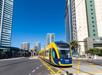 Gold Coast Rapid Transit Stage is the first public transport infrastructure project in Australia