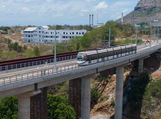 When fully operational, the 26-kilometre line will extend from Curepipe to Port Louis and include 19 stations.