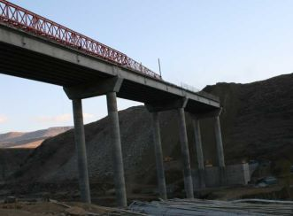 Mohlapiso Bridge over the Senqu River