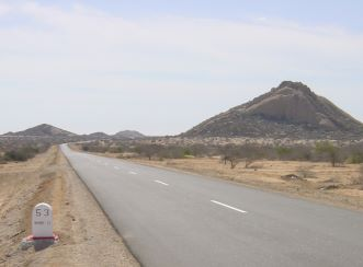 Rehabilitation of the road between Namibe and Lubango