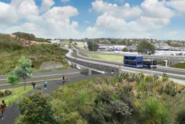 Aurecon connects the community and stakeholders to design Auckland's north transformational traffic projects