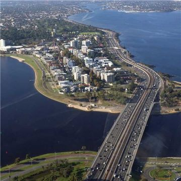 Mitchell Freeway Aerial image