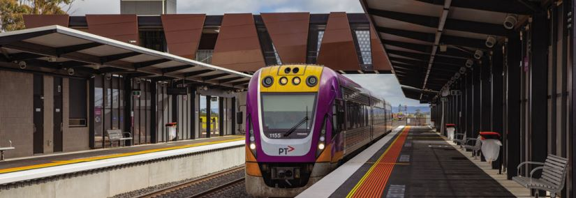 The Australian and Victorian governments have invested in upgrading every regional passenger rail line in Victoria. Image courtesy of Rail Projects Victoria.