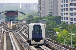 Aurecon conducts inspections on Sengkang and Punggol light rail transit to propose the most appropriate and cost-effective rectification measures.