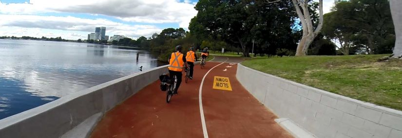 Aurecon, the project working group and the two council departments, developed the future cycle network with improved safety and convenience for cyclists