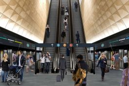 Aurecon is leading the design role in the project Sydney Central Station's Central Walk and the new escalators in from Platforms 12 to 23 will be open in late 2022.
