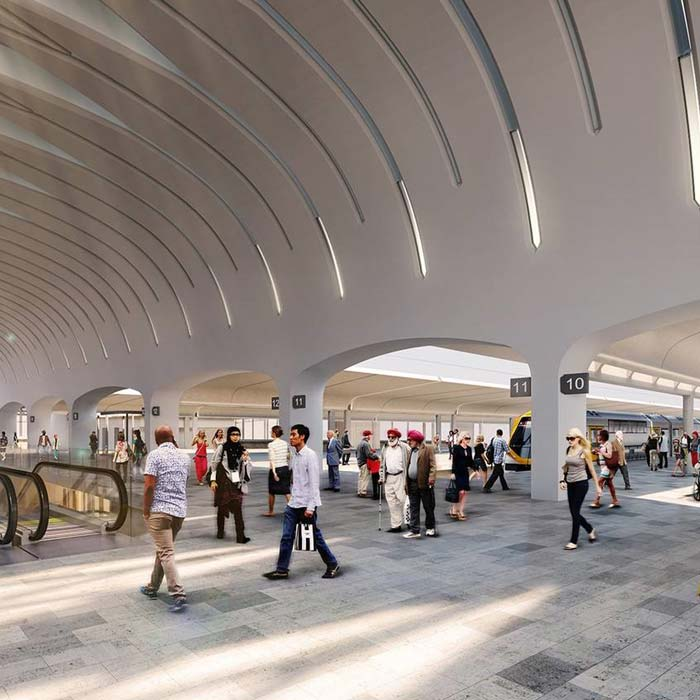 Aurecon is leading the design of the Sydney Metro transformation that will increase the capacity of train services and improve Australia's busiest rail interchange.