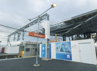 The Sydenham Station upgrades include easy interchange for passengers between Sydney Trains and Sydney Metro services.