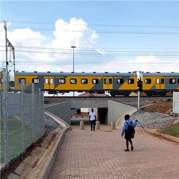 The Tembisa underpasses project was completed in February 2019.