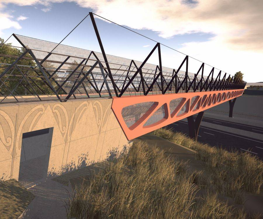 Aurecon has delivered a bridge design that echoes the richness of Maori culture and will leave a legacy for bridge design in New Zealand