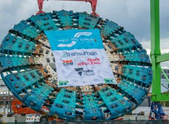 Two tunnel boring machines (Bella and Vida) will burrow under Melbourne's west while installing a watertight concrete lining to create new tunnels.