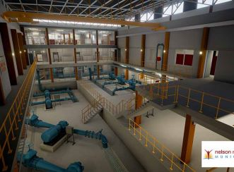 3D modelling facilitated simultaneous design collaboration between engineering and architectural disciplines and enabled the development of a VR model for the Coega Kop Water Treatment Works.