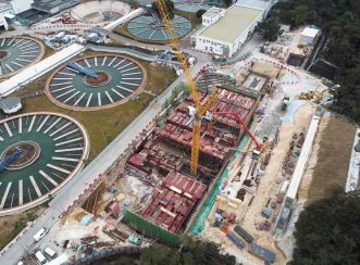 Aurecon helps to expand the Tai Po Water Treatment Works