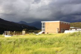 Preekstoel Water Treatment Works - located in a beautiful area of South Africa
