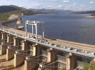 The Wyangala Dam in New South Wales. Aurecon and KBR are working in a blended team with WaterNSW to manage the planning and delivery of a large-scale water infrastructure portfolio.