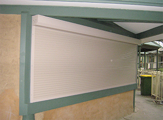 Old bushfire shutters were replaced with modern versions that provide a more secure seal around windows, and can be operated from within the building