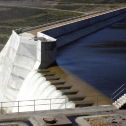 An image of a dam