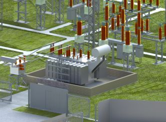 A 3D substation design example
