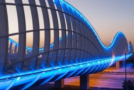 Meydan Bridge, Dubai, Middle East