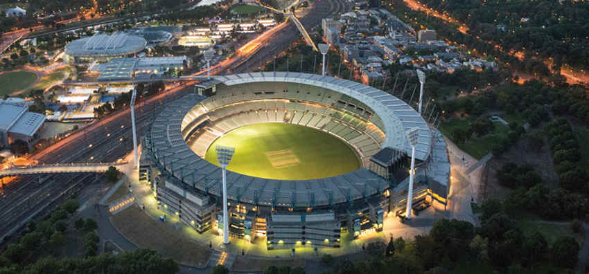 Most recently, the Melbourne Cricket Ground has undergone upgrades to ensure its heritage does not override the importance of fan experience and technology is integrated to enable this to happen.