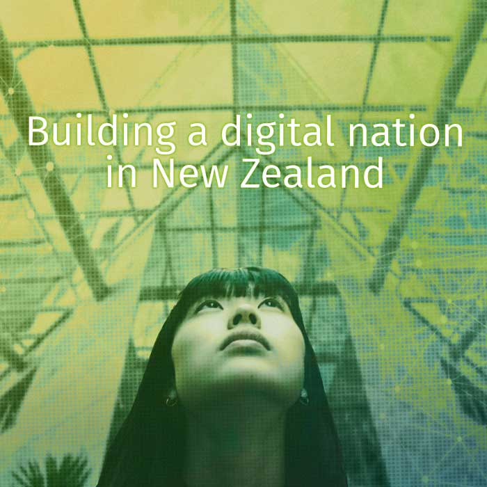 In Aurecon's latest thinking paper, Digital Practice Leader Rebecca Strang discusses how a strategic approach combining leadership, technology, people and processes will help propel New Zealand forward into a bright digital future.
