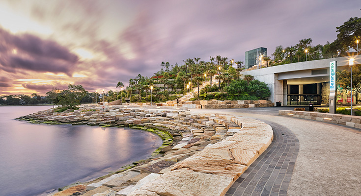 Barangaroo Reserve and The Cutaway, Australia