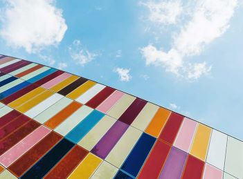 Colourful buildings – Photo by Scott Webb on Unsplash