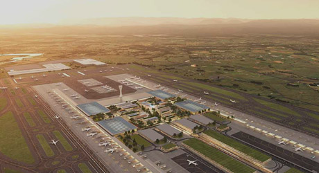 Aurecon is providing the terminal precinct engineering design services for the new $5.3 billion Western Sydney International (Nancy-Bird Walton) Airport.