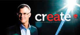 John Leech on the cover of create magazine