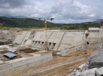 Kashimbila Dam in Nigeria