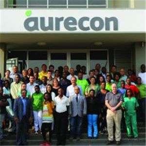 Aurecon staff in Angola