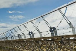 Solar thermal energy field