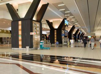 Central Terminal at OR Tambo International Airport