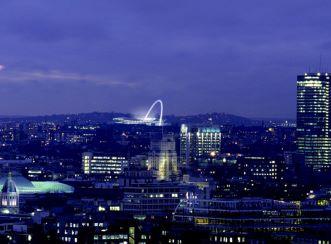 Wembley Stadium - Aerial view