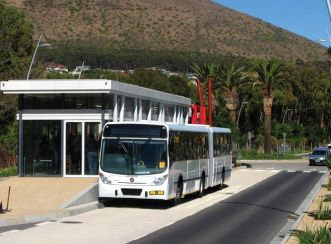 IRT bus and Station - Granger Bay Boulevard and Green Point Roundabout Traffic Circle