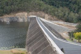 Borumba Dam flood remediation