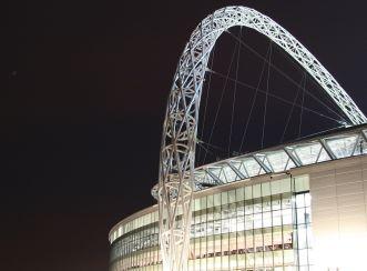 Wembley Stadium - Arch at night