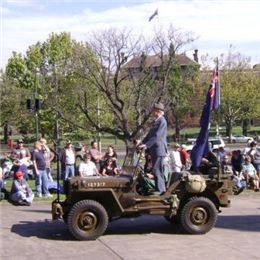 John Connell on ANZAC Day