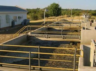 New Sewage Treatment Works at Orapa Mine