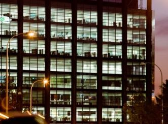 235 St Georges Terrace - At night