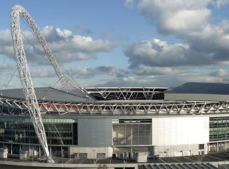 Wembley stadium - Aerial