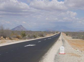 Rehabilitation of the road between Namibe and Lubango